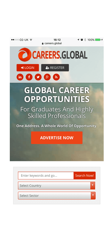 careers.global mobile platform